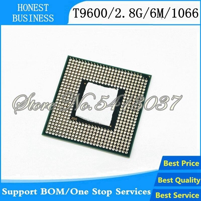 Процессор Core 2 Duo T9600 CPU 6M Cache/2,8 GHz/1066/Dual-Core Socket 478 ноутбук процессор GM45 PM45
