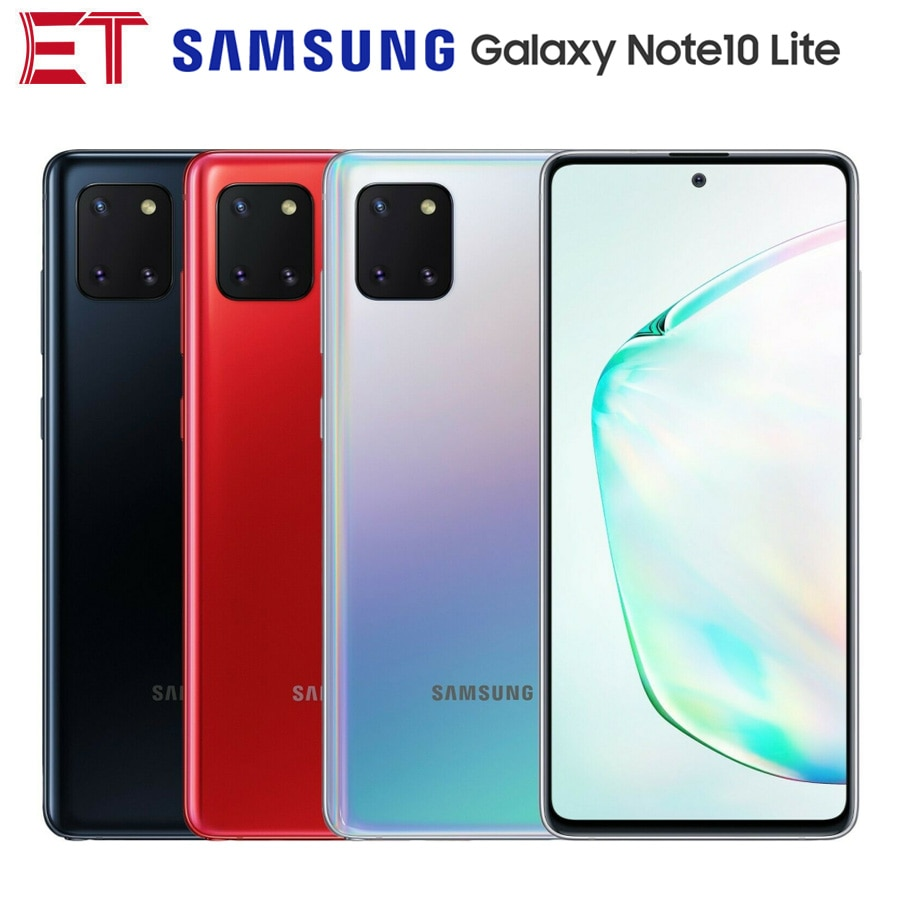Téléphone portable Global Samsung Galaxy Note10 Lite SM-N770F/DS double SIM 6.7