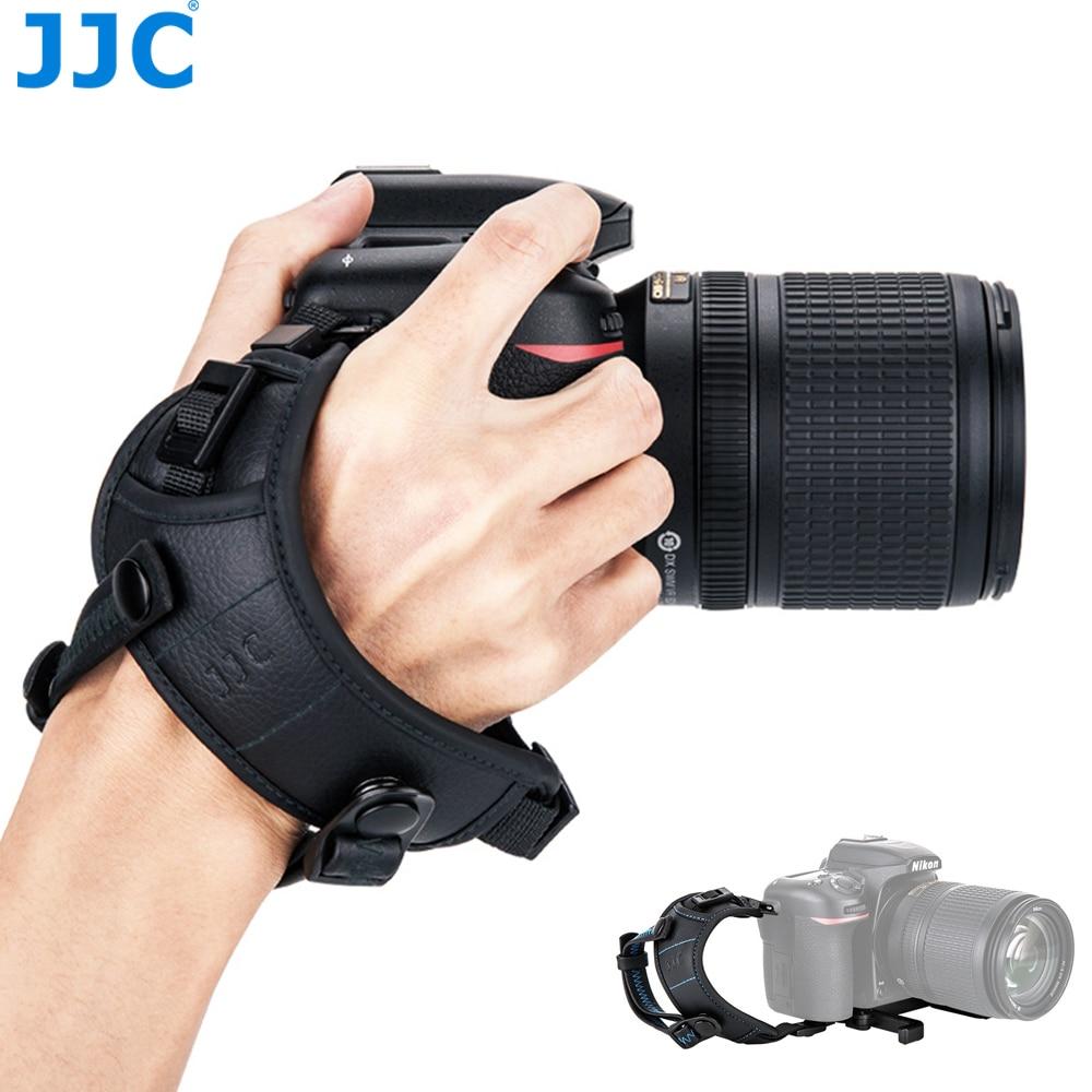 JJC HS-ML1M Регулируемый ручной и наручный ремешок для Canon Nikon Sony Fujifilm Olympus Pentax Panasonic удерживает камеры с объективом