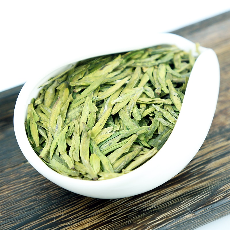 6A 2021 ربيع 250g الشهير نوعية جيدة التنين جيدا الربيع الأخضر ، الشاي للرعاية الصحية العطاء رائحة شحن مجاني
