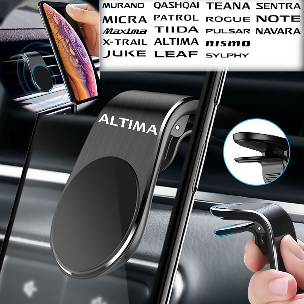 Аксессуары для Nissan ALTIMA, креативные магнитные автомобильные воздуховыпускные магнитные держатели, магнитные воздуховыпускные отверстия дл...