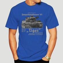 T shirt Herren Wehrmacht Tiger Premium T-Shirt Panzer Deutsches Reiches Ruhm Ehre WW2 Soldaten T Hemd 3173X