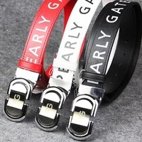 fashion pg belt men sport golf leather belt the length can be cut freely