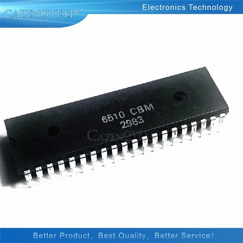 1 قطعة MOS6510CBM 6510CBM 6510 MOS 6510 CBM DIP-40 6510-CBM DIP-40