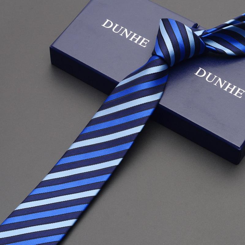 High Quality 2019 Fashion New Silk Wedding Ties for Men Tie slim 6cm Necktie Designers Brand Formal Neck Tie with Gift Box