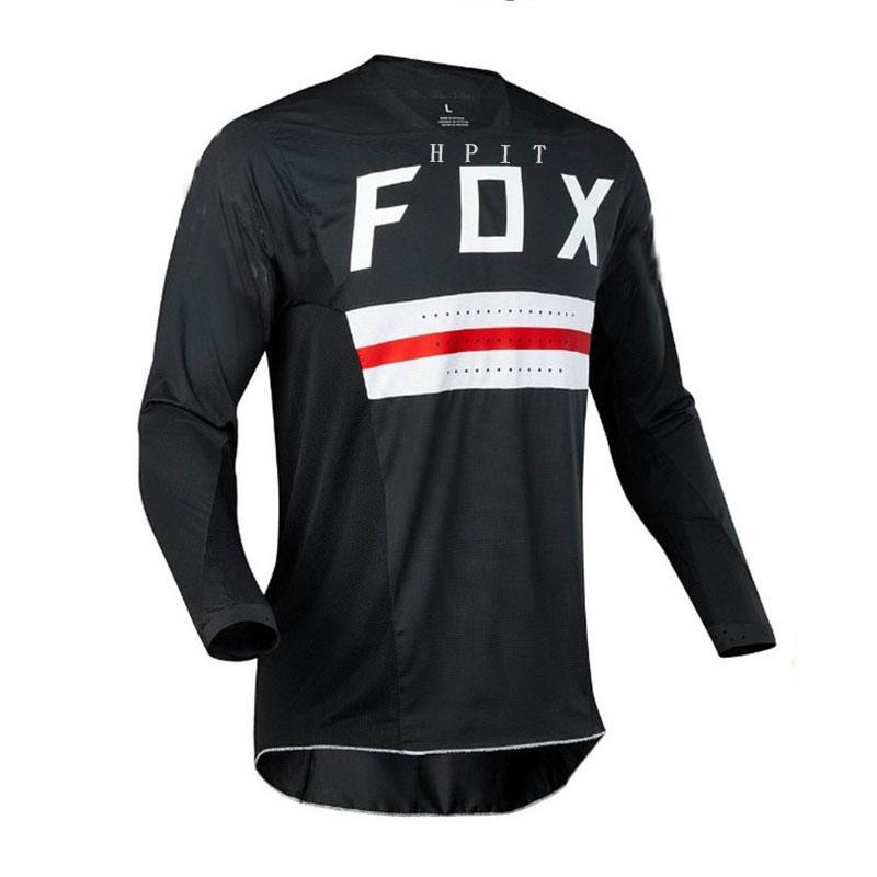 2020 moto VTT équipe descente maillot hpit fox vtt tout-terrain MX vélo locomotive chemise cross country VTT