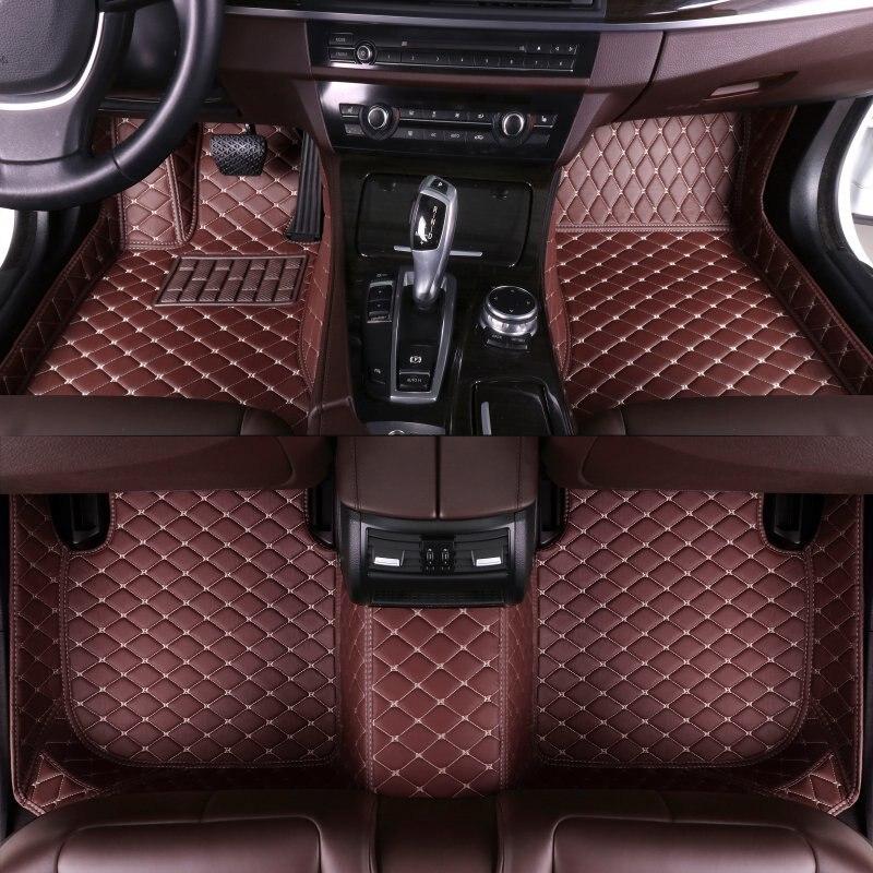 Custom Car Floor Mats for Buick GL6 Excelle Enclave null VELITE envision Encore Lacrosse Rega GL8 Verano Park Avenue car styling