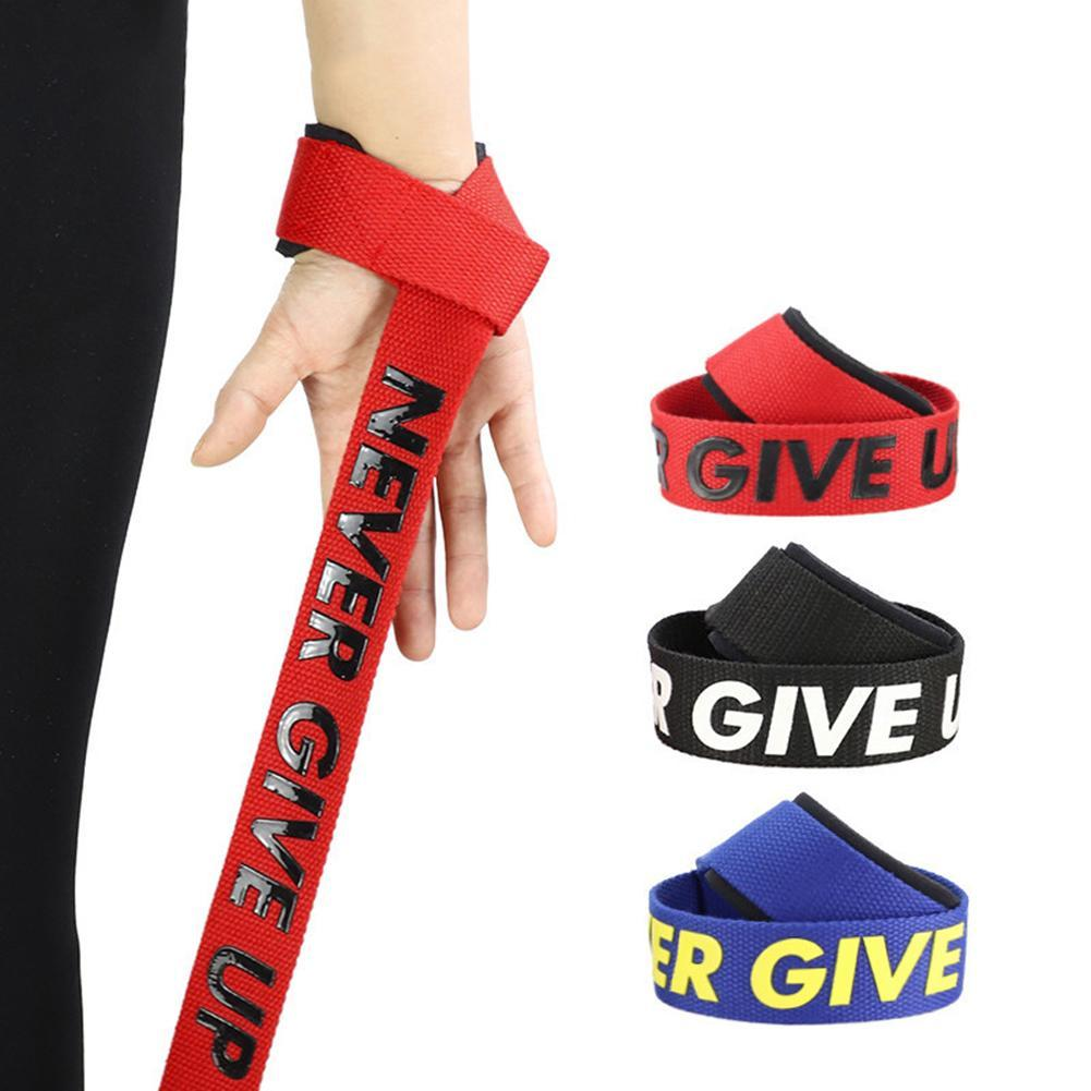 1 Pair Gym Fitness Weight Lifting Hand  Grip Straps Dumbbell Wrist Support Band gym equipment