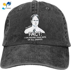 Dwight Schrute Unisex Adult Cap Adjustable Cowboys Hats Baseball Cap Fun Casquette Cap.