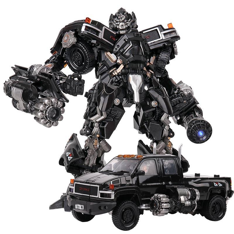 Heimanba LS09 experto en armas de transformación ToysBMB LS-09 Aleación de gran tamaño + figura de acción ABS Robot colección de coches KO juguetes regalo para niños