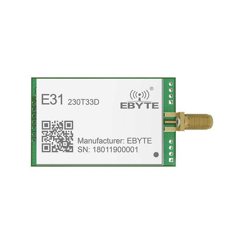 E31-230T33D 33dBm 2W wireless transceiver module AX5243 230MHz UART 8.0km long distance wireless transmitter module