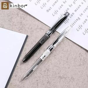 Youpin Kinbor 3way Multifunction Pens 0.5mm Black Red Refill Gel Pen Mechanical Pencil Exclusive Rubber Office School Stationery