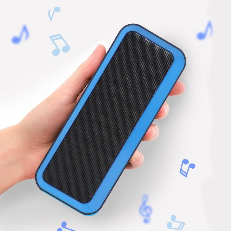 YABA Portable Wireless Bluetooth Outdoor  Speaker 5.0 + EDR Waterproof IPX5 Noise Reduction LED
