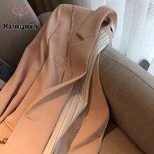 Autumn 2021 Women Blazers Loose Oversize Thick Ladies Jackets Long Sleeve Female Outerwear Basic Coa