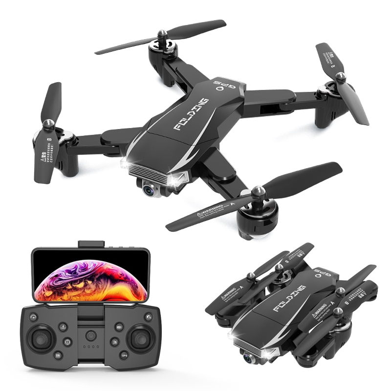 New Drone 4K HD Camera WiFi GPS FPV Real-time transmission Profesional Dron Rc Quadcopter Toys 1080P Camera Rc Helicopters enlarge