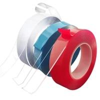 Nano ruban adhesif Super Double Face Transparent  auto-adhesif Scotch resistant a leau pour salle de bains