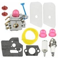 carburetor for husqvarna 545081848 c1q w40a 128c 128cd 128l 128ld 128ldx 128r gaskets filter spark plug oil tube check valves