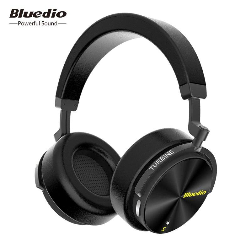 Bluedio T5 Drahtlose Kopfhörer hifi stereo Bluetooth noise cancelling headset mit mikrofon für handys