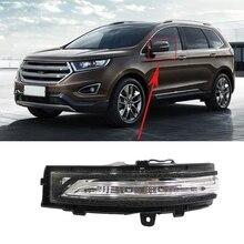 Umkehr Spiegel Licht estic Rückspiegel Licht Drehen Licht Reflektor Schatten für Ford Edge 2015-2018