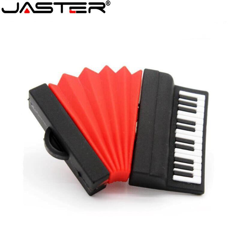 JASTER-Unidad flash USB 2,0, acordeón, minions, pendrive de 4GB, 8GB, 16GB, 32GB,...