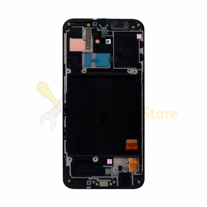 For Samsung Galaxy A40 A405 A405F A405FN/D A405DS Display Touch Screen with frame Digitizer Assembly For SAMSUNG A40 LCD 5.9