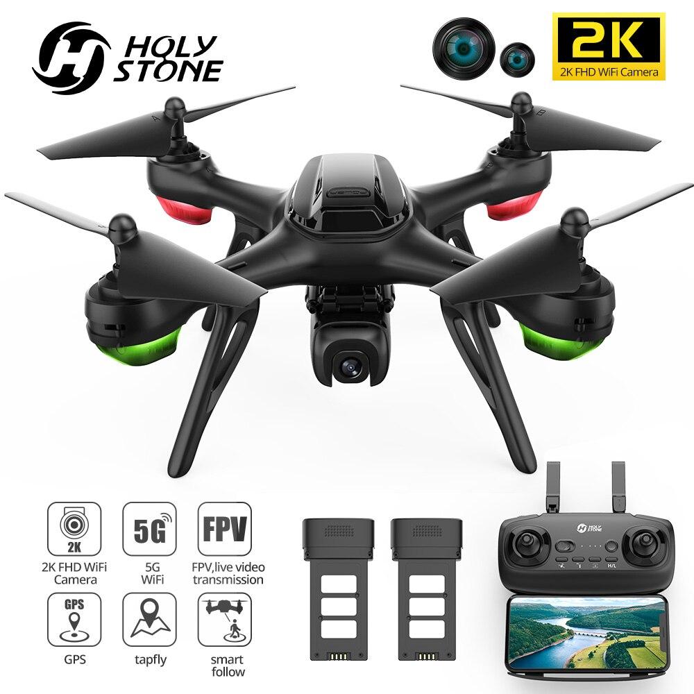 HS130D 2K GPS RC FHD Wifi Cámara FPV profesional RC Drones 5G...