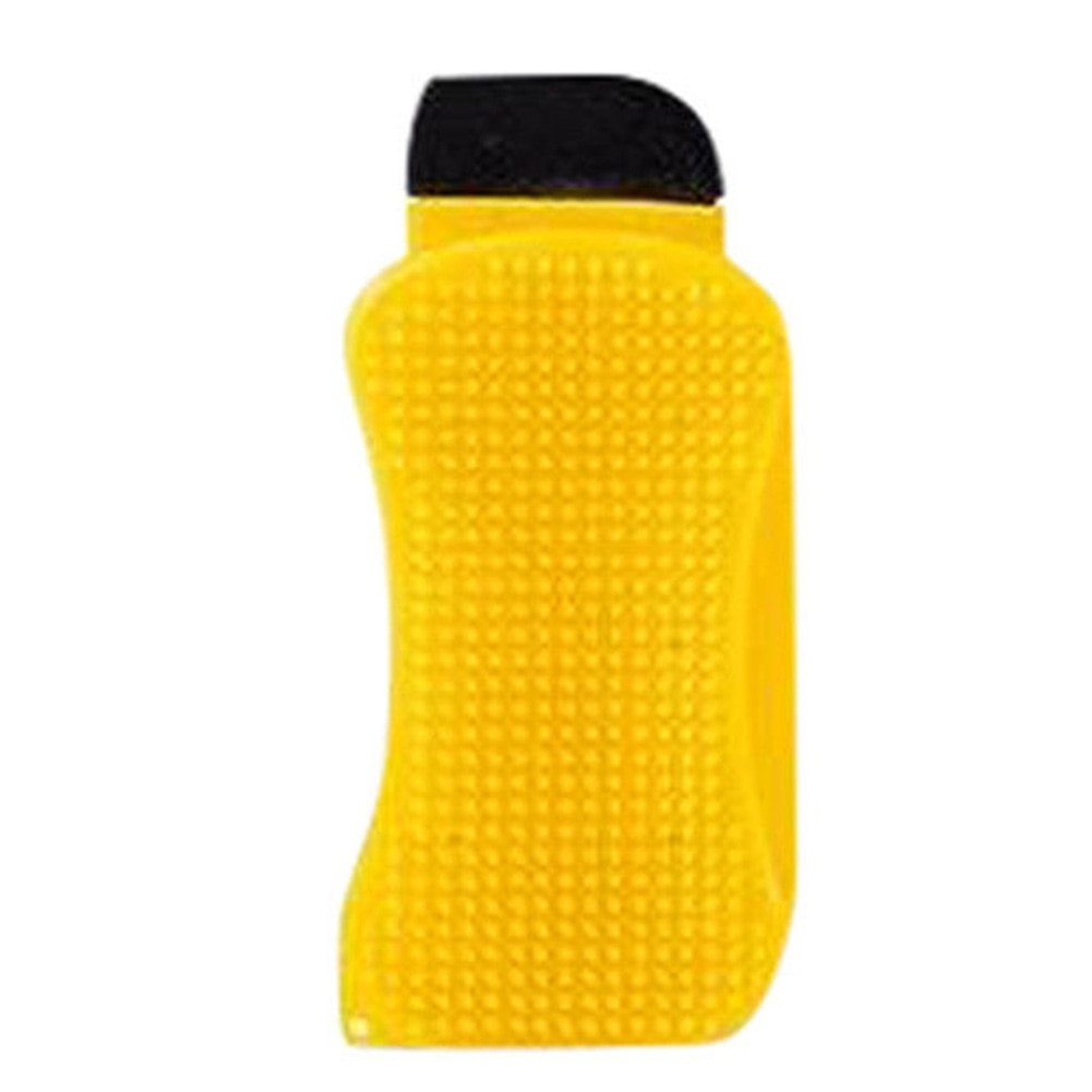 Hero 3 en 1 de silicona con dispensador de jabón multifunción de limpieza práctica de esponja de larga duración cepillo rasqueta