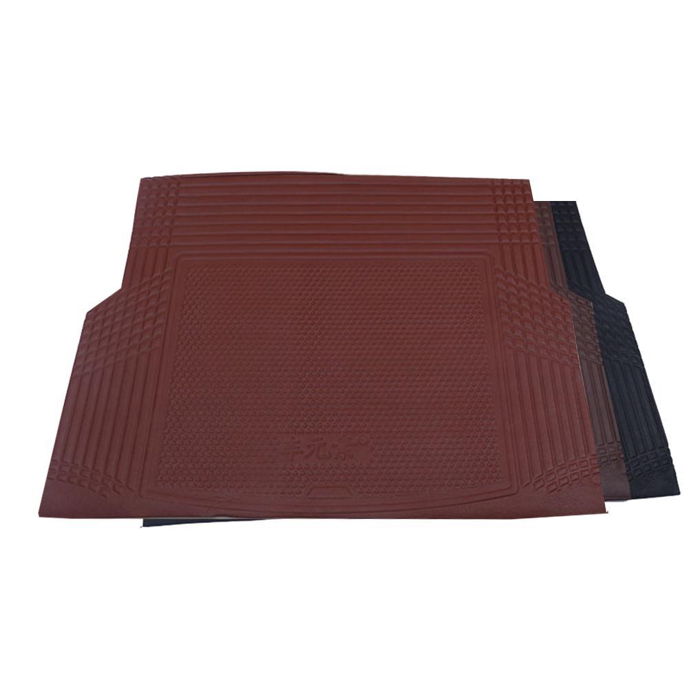 Alfombrilla plegable para maletero trasero de coche, alfombrilla para maletero, protección para maletero DYI Cropable antideslizante, diseño de coche