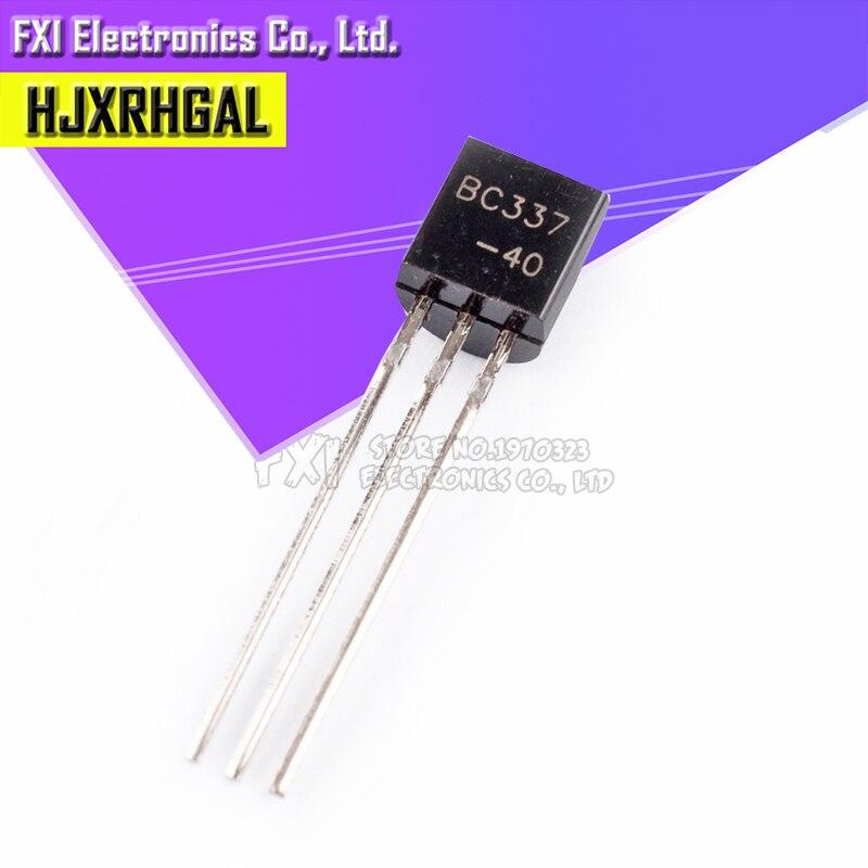 100 pièces BC337-40 BC327-16 BC337-25 BC327-40 BC337 BC327 BC337 BC327 TO-92 TO92 hjxrhgal transistor