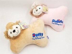 New Duffy Bear & ShellieMay Plush Car headrest Pillow Doll 2pcs