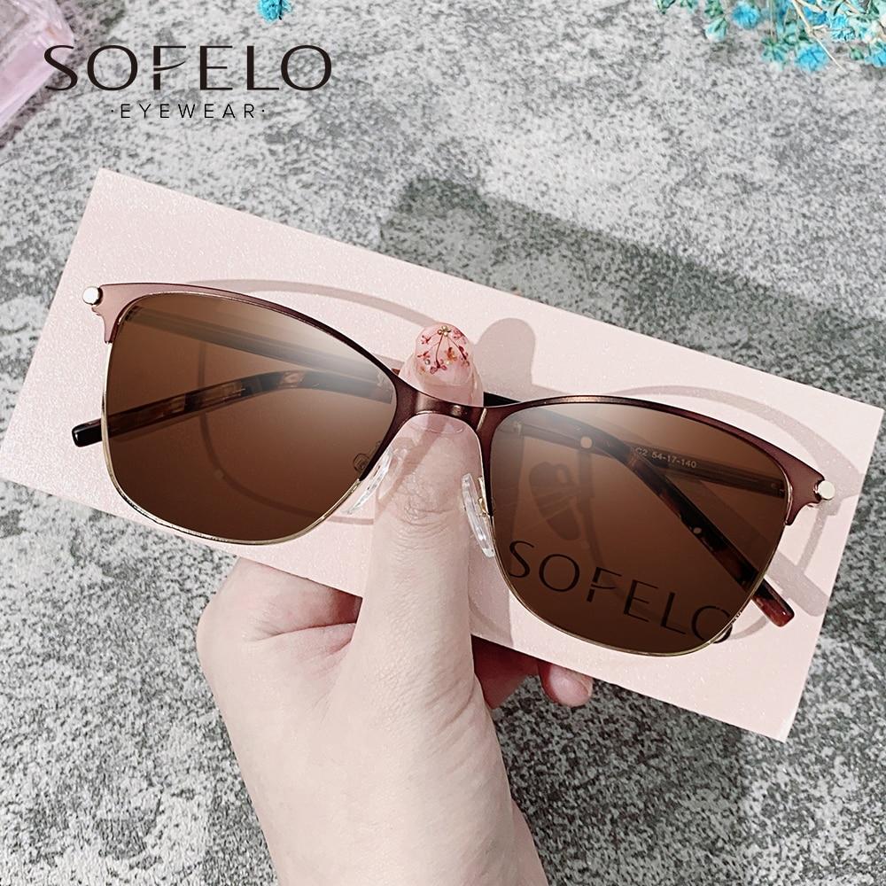 Optical  Myopia Sun Glasses Women Polarized Prescription Sunglasses Female Fashion Progressive Bifoc