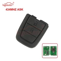 kigoauto remote key part 434mhz 2 button with panic for holden ve commodore 2006 2013