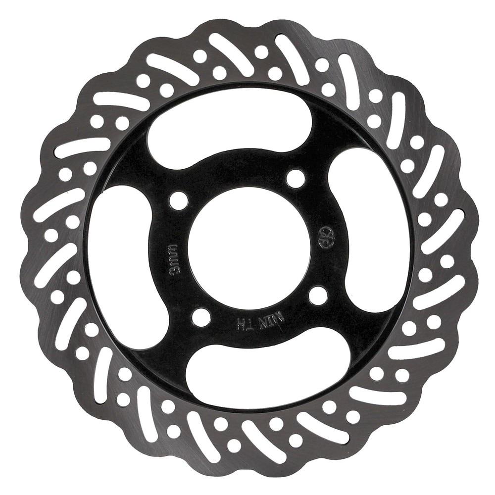 1 Pair 220mm Rear Brake Disc Rotor 58mm for 150cc-350cc Dirt Pit Bike UTV ATV GO KART Accessories Pocket Bike 49cc Parts