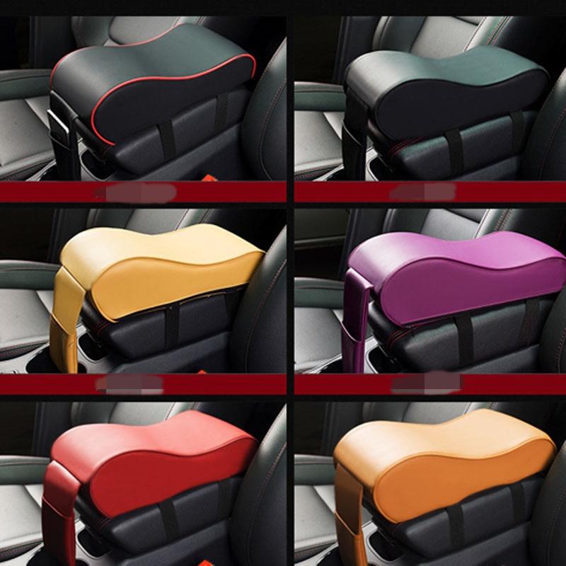 Asiento de coche consola central apoyabrazos almohadilla para Skoda Octavia Fabia Rapid superb Yeti Roomster