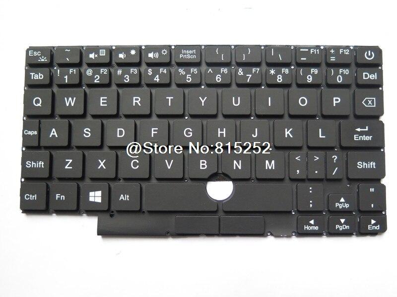 لوحة مفاتيح One-Netbook OneMix OneMix1 OneMix2S OneMix22S الإنجليزية الولايات المتحدة بدون إطار أسود جديد