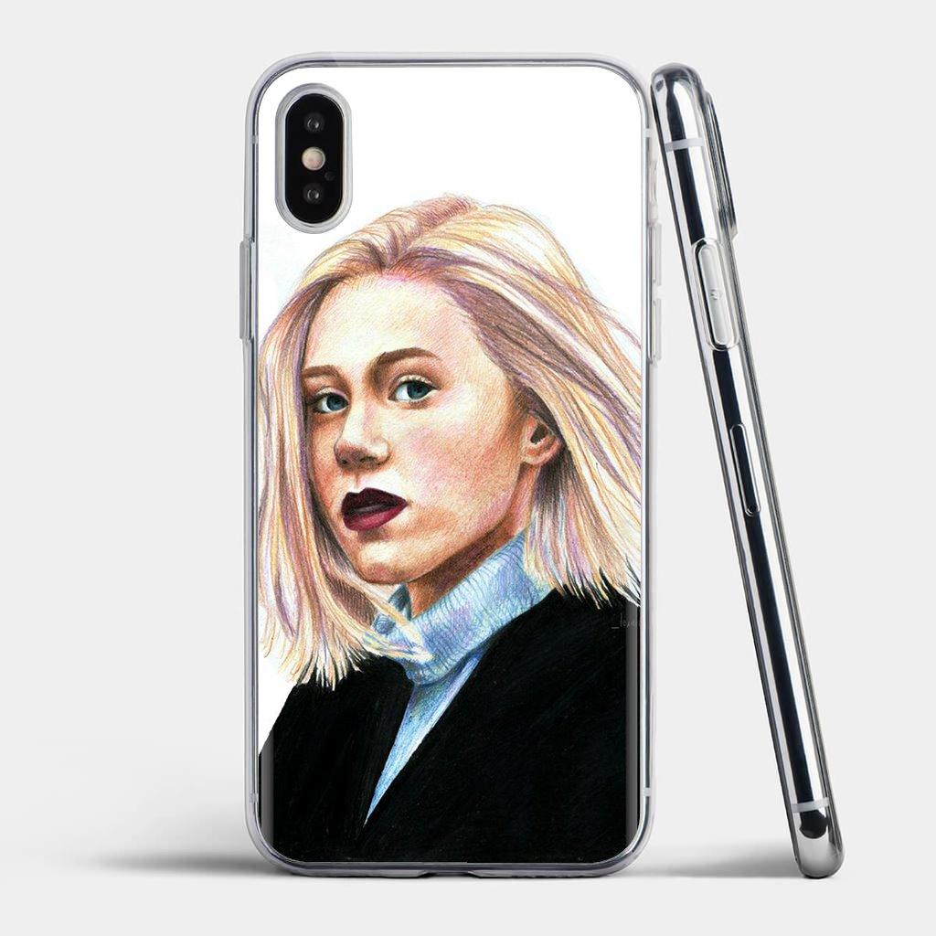 Para iPhone 11 Pro 4 4S 5 5S SE 5C 6 6S 7 7 8 X XR XS Plus Max para iPod Touch Tv Skam Isak y ni siquiera Pastel de la caja del teléfono de silicona