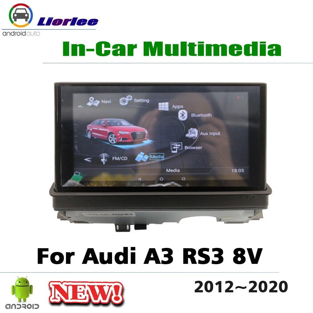 Reproductor Multimedia de Radio para coche Android de 7 pulgadas para Audi A3 RS3 8V 2012 ~ 2020 4 + 64G IPS sistema de navegación Multimedia con pantalla GPS