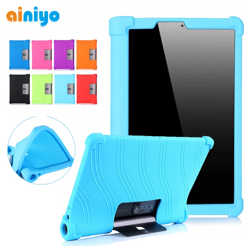 Funda suave para Lenovo Yoga Tab 5 YT-X705F 2019, funda para tableta inteligente para Lenovo Yoga Tab 5 yt-x705f, funda de silicona + lápiz óptico