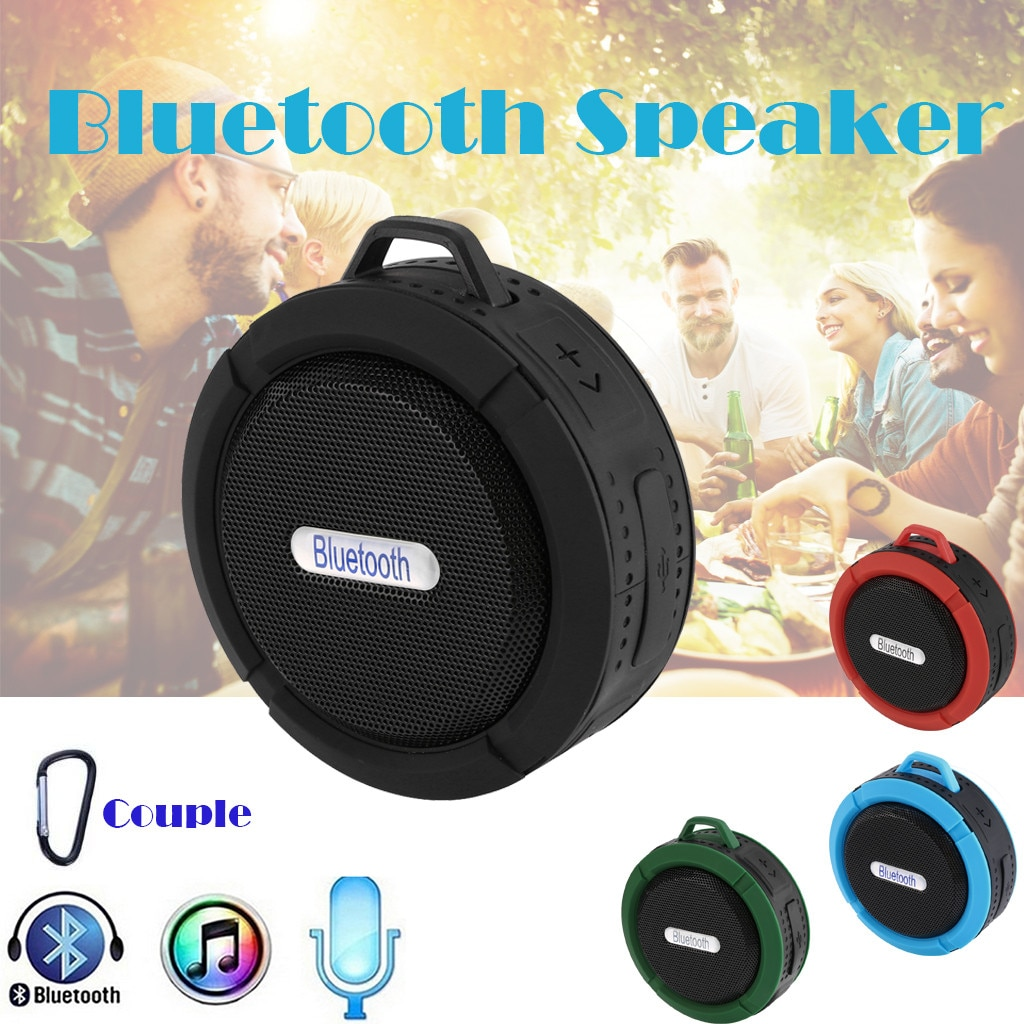 Mini Portable Wireless Bluetooth Waterproof Stereo Sound Speaker Outdoor Speaker Exquisite Appearance Design Fast Delivery