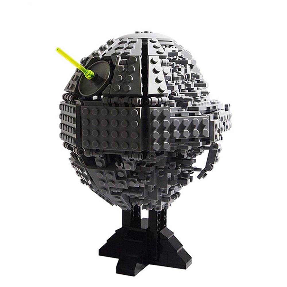 Death Star II midi-échelle MOC bloc Star Series Wars 735 pièces blocs de construction briques jouets compatibles Star Series guerre MOC-5505
