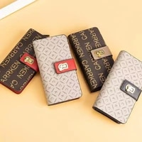 womens luxury long wallet european and american fashion large capacity zipper handbags ladies casual coin purse card holder
