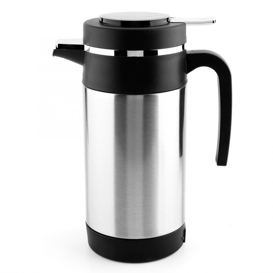 Автомобильный Электрический чайник из нержавеющей стали, 12 В, мл