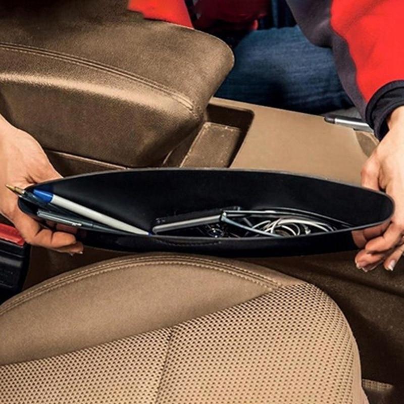 Мини Автомобильная коробка для хранения шов сиденья автомобиля сумка карман Storager для телефона кошелек монеты ключ держатель Автомобильный...