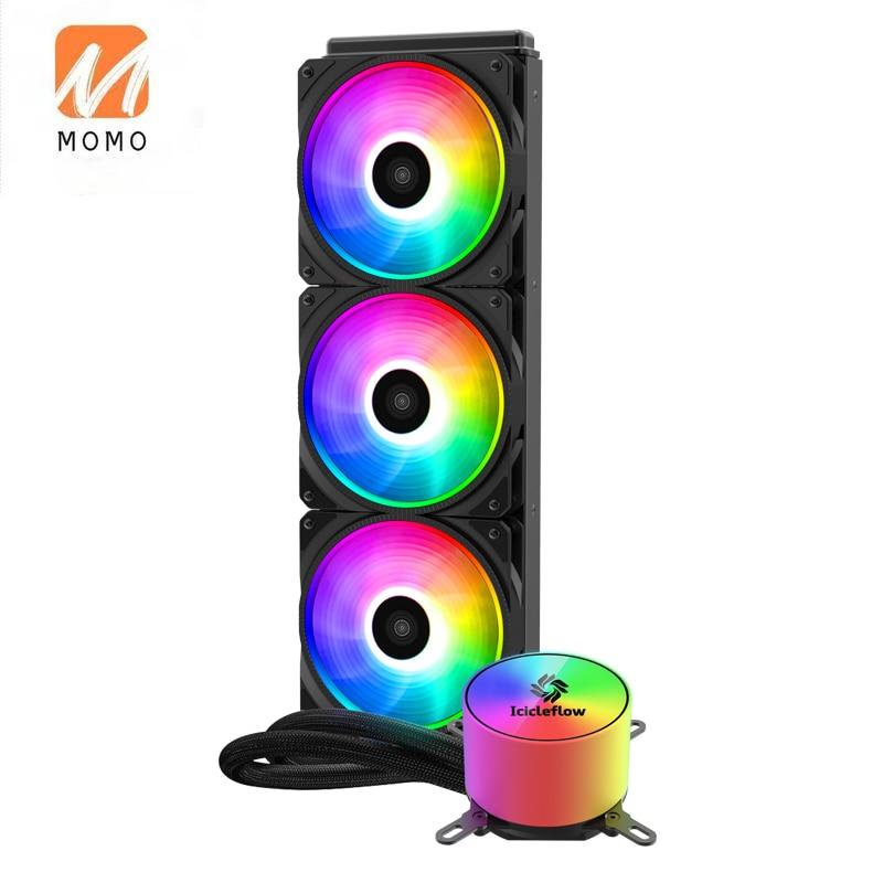 Фото - Efficient heat dissipation Desktop PC liquid cooling system 360MM  Liquid CPU Cooler icue h115i elite capellix liquid cpu cooler [cw 9060047 ww]