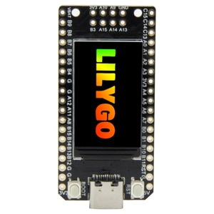 LILYGO TTGO T-Display-GD32 GD32VF103CBT6 Main Chip ST7789 1.14 Inch IPS 240x135 Resolution Minimalist Development Board