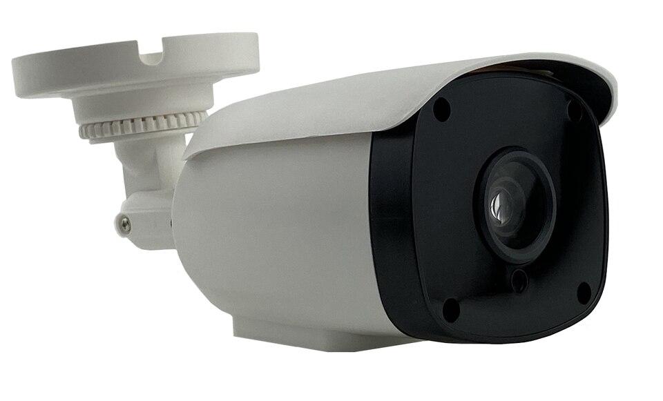 F1.0 StarLight IP Bullet Camera Low Illumination Sony IMX307+3516EV200 2.0MP 1080P H.265 650nm Filter All Color Onvif Plastic