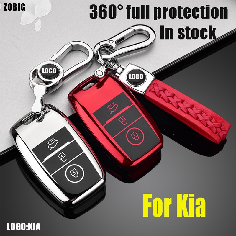 ZOBIG TPU чехол для автомобильного ключа для Kia Rio 3 K2 Ceed Cerato K3 Sportage 4 Picanto K5 Optima Sorento Forte Stinger