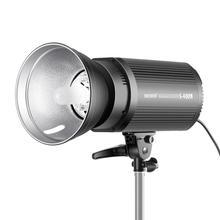 Neewer lámpara estroboscópica para flash Monolight 400W GN60 5600K con lámpara de modelado para fotografía de modelos de ubicación de estudio (S400N) enchufe EU/US