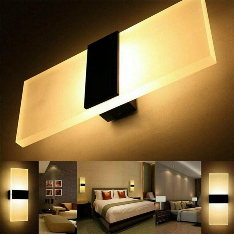 moderno 3w conduziu a luz de parede para cima para baixo lampada arandela iluminacao