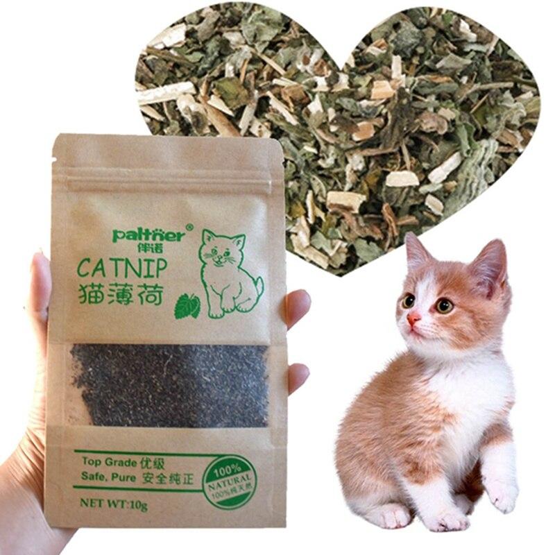 1PC 100% Natural menta gatuna prémium ganado hierba, suministros para mascotas sabor mentolado gatos de juguete graciosos orgánicos nuevos productos para mascotas